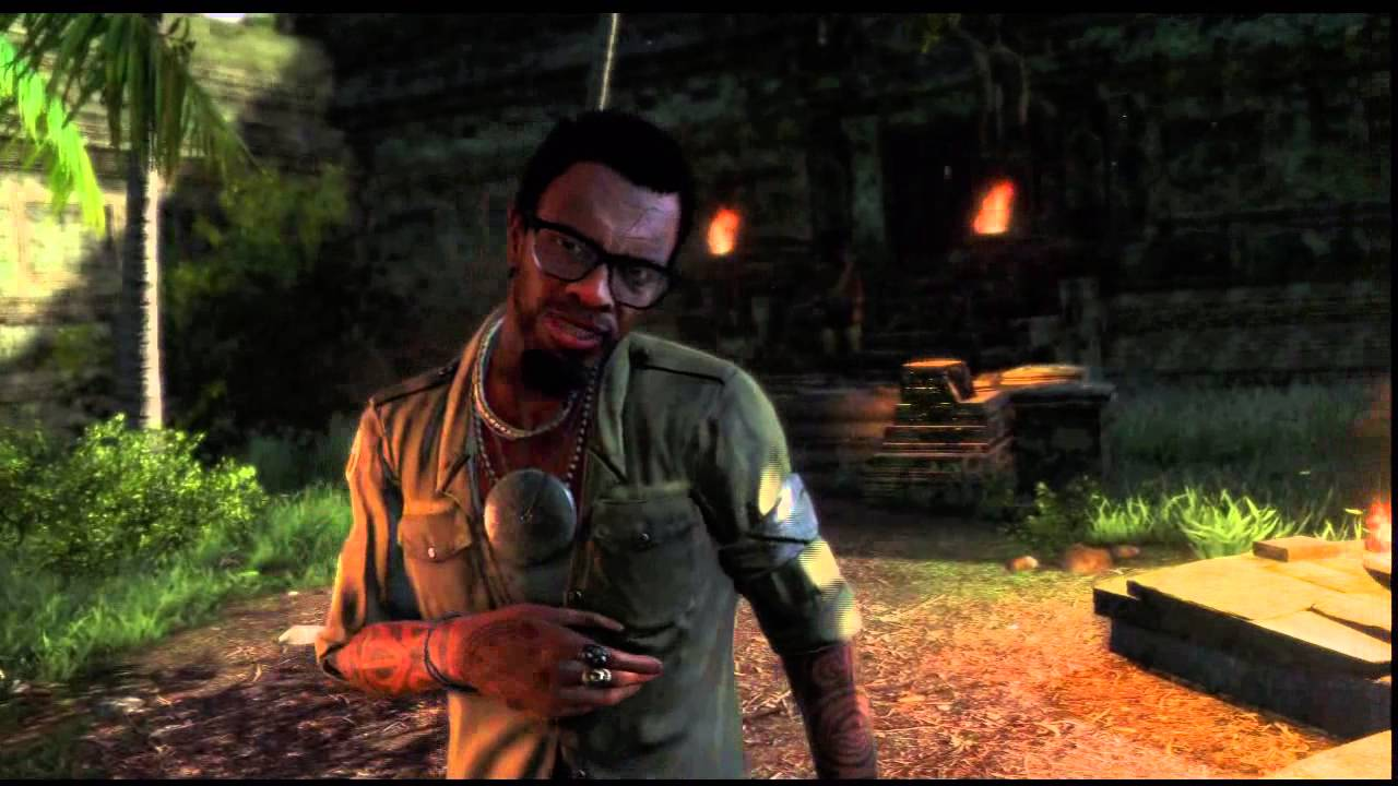 Far Cry 3 One Of Us Trophy Dennis Tattoo Cutscene Head Toward