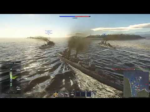 "Imperial Japanese Navy - (夕雲, ""Evening Clouds"") (War thunder Naval Forces]"
