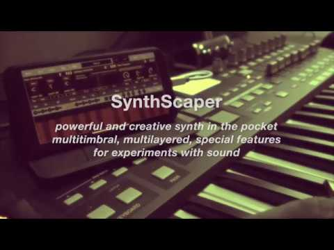 SynthScaper - Powerful and creative synth in the pocket