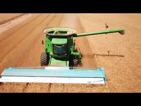 2018 West Texas Wheat Harvest