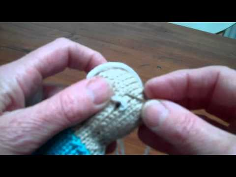 How to embroider the eyes on your knits youtube how to embroider the eyes on your knits ccuart Image collections