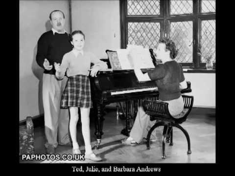 Julie Andrews at 13 - Duet with stepdad