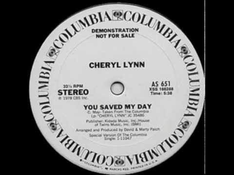 Cheryl Lynn ‎- You Saved My Day