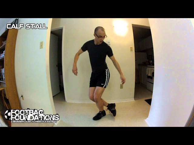 Footbag trick: Unusual stalls