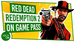Red Dead Redemption 2 + THE BEST GAMES on Xbox Game Pass | Xbox Game Pass Update