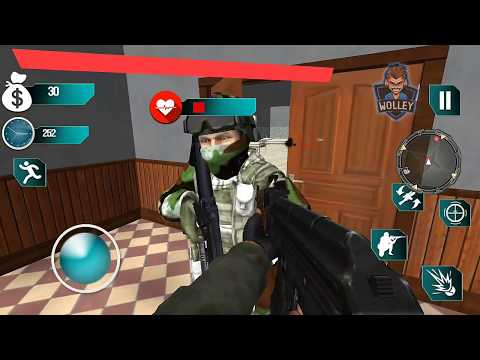 US Army Commando Action FPS Mission P.2 ( Gamers Tech 3D) Android Gameplay FHD - Army Games For Kids