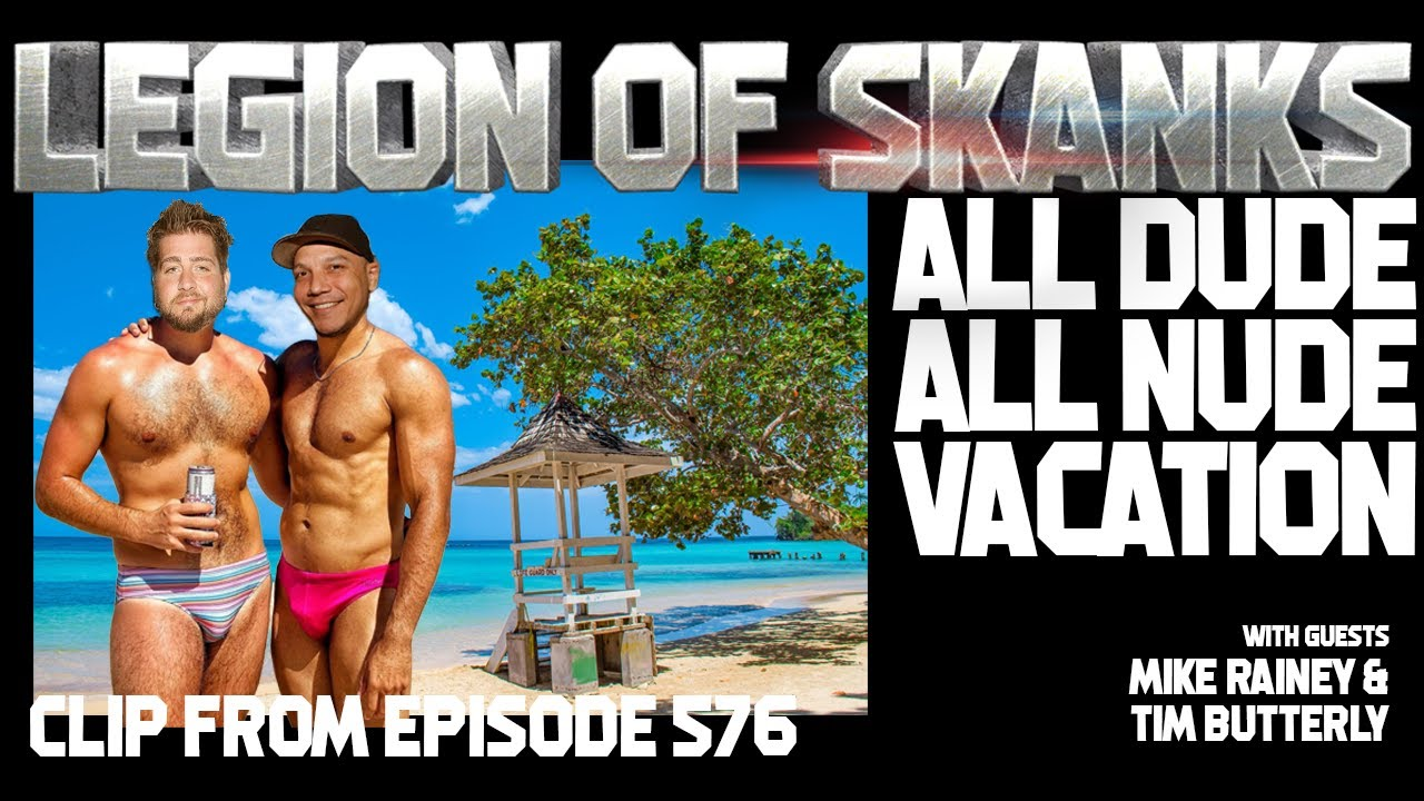 All Dude All Nude Vacation