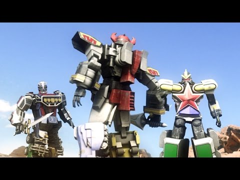 DAIZYUJIN III MEGAZORD - short movie battle fight CGI ( fan made )
