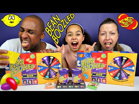 Thumbnail: BEAN BOOZLED CHALLENGE! Parents Eat Super Gross Jelly Beans Candy - Daddy Freaks Out