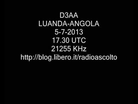 D3AA AMATEUR RADIO STATION LUANDA ANGOLA