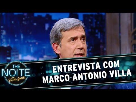 The Noite (14/06/16) - Entrevista com Marco Antonio Villa