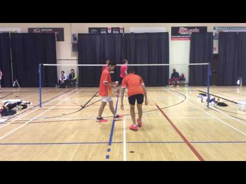 2016 Atlantic Elite U19 MD Mason Huynh vs Soo Yin Ma