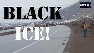 When the car meets with BLACK ICE! Compilation