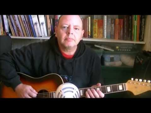 Craig Schroter sings Painted Ladies by Ian Thomas