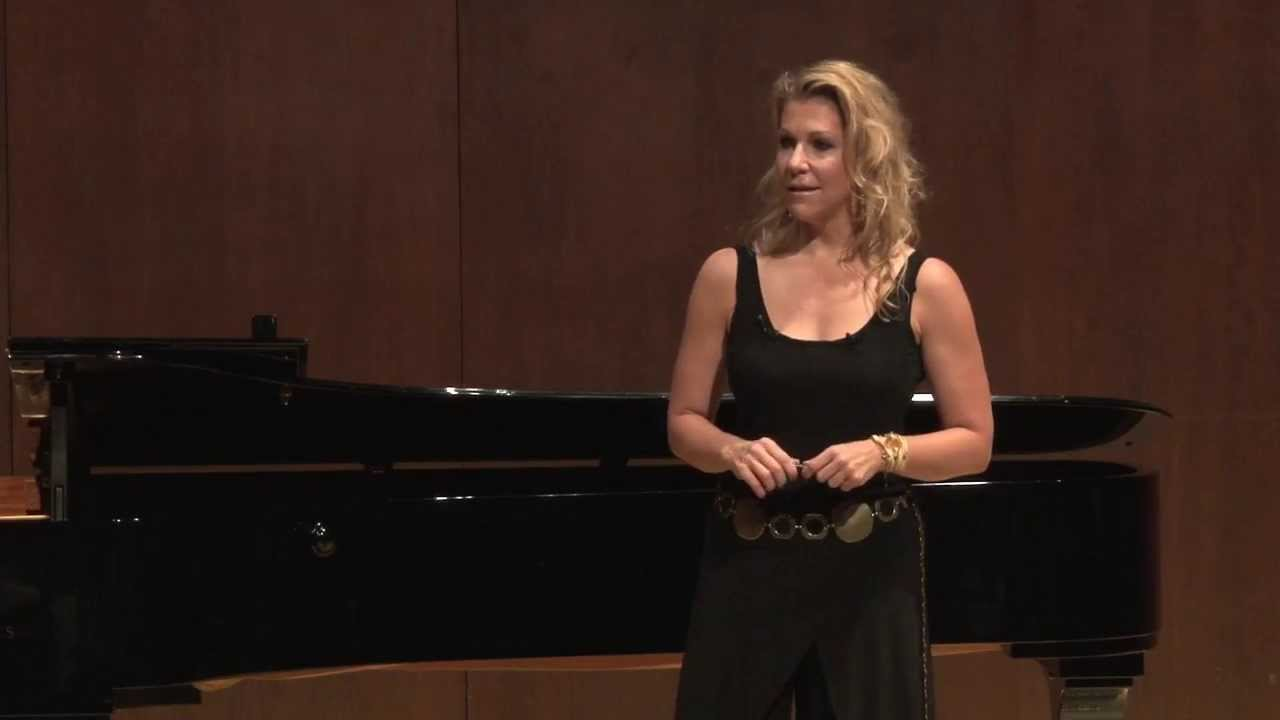Joyce DiDonato Master Class, October 4, 2013: Opening Remarks