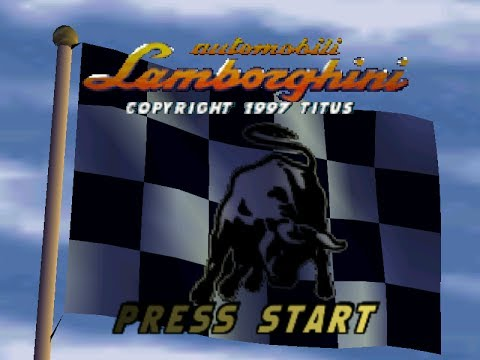 N64 Automobili Lamborghini Title