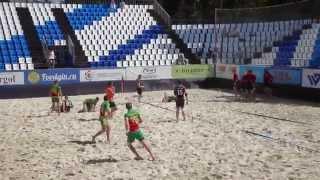 Московский турнир по пляжному регби VETT