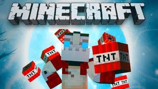 FUN WITH TNT! Episode 4 - TNT Force Field! (Minecraft)