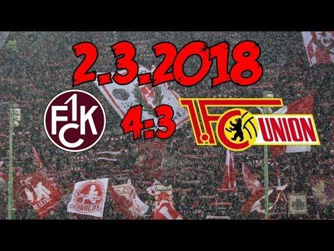 1. FC Kaiserslautern 4:3 1. FC Union Berlin - 2.3.2018 - WAS EIN SPIEL!!!