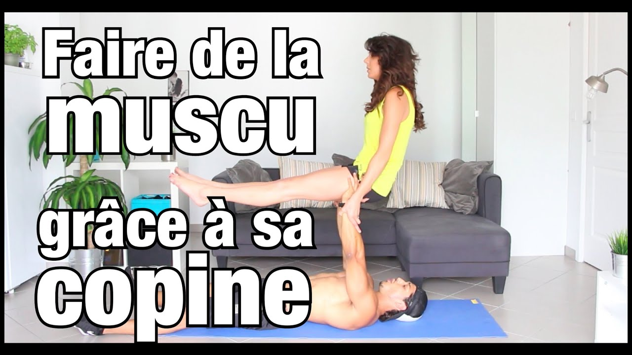 se servir de sa copine pour faire de la musculation by bodytime youtube. Black Bedroom Furniture Sets. Home Design Ideas