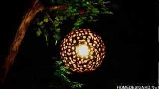 Eden Wooden Lamp, An Intriguing Design Statement