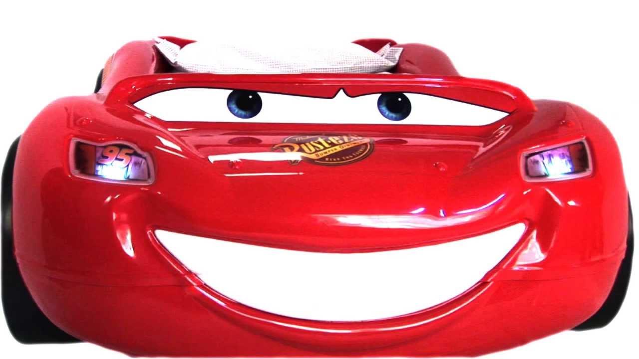 Cama coche Rayo McQueen - YouTube