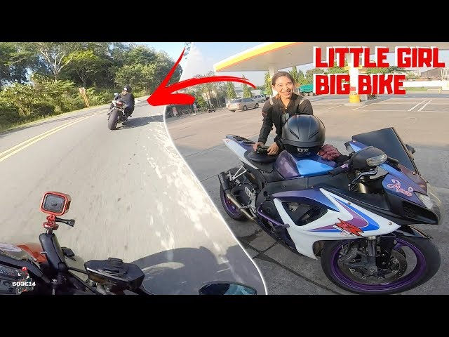 GIRL RIDING A SUZUKI GSXR 600 AT MARILAQUE | BANGKING SA MARILAQUE | TAGALOG VLOG | 14