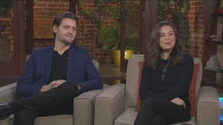 Alexa Davalos and Luke Kleintank talk 'The Man In The High Castle
