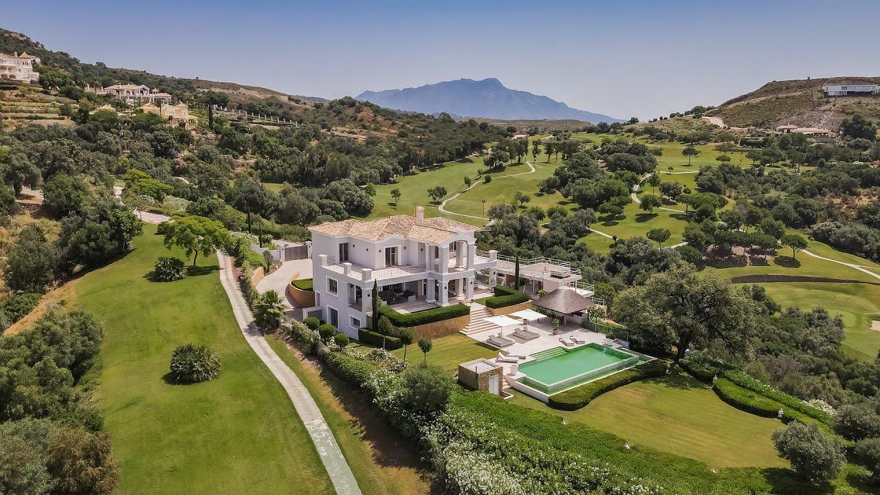brand new villa in marbella club golf resort benahavis youtube. Black Bedroom Furniture Sets. Home Design Ideas