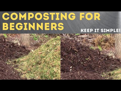 How to make Compost - The Simplest Easy Method To Compost Piles!