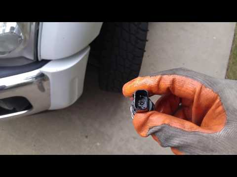 2011 Powerstroke fuel pressure switch sensor Ford Super Duty diesel 6.7 part 2