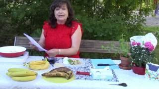 Десерт: Жареные Бананы с медом/О Бананаx из видеоканалa Выйти замуж за шведа Микаелы Даниельссон