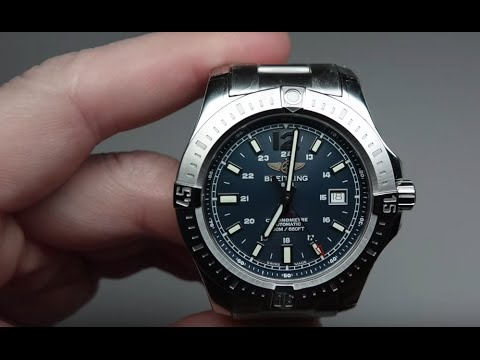 Breitling Colt Automatic Men's Watch Review Model A1738811.C906.173A