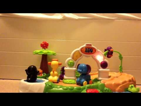 Fisher Price Amazing Animals Spinnin' Around Musical Zoo