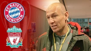 'Liverpool favourites'   Arjen Robben on why he is dreading Champions League clash at Anfield