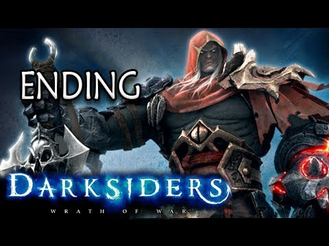 Darksiders Walkthrough - Part 49 Boss Abbadon ENDING Let's Play XBOX PS3 PC  (Gameplay/Commentary)