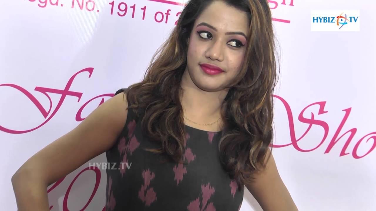 Arnitha Institute Of Fashion Design Annual Fashion Show 2016 Hyderabad Youtube