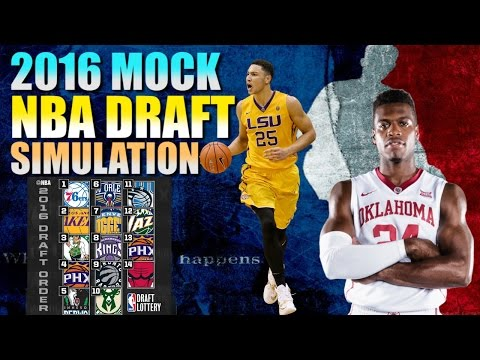 2016 Mock NBA Draft - Simulation