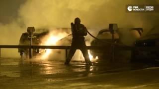 Пожары в Швеции