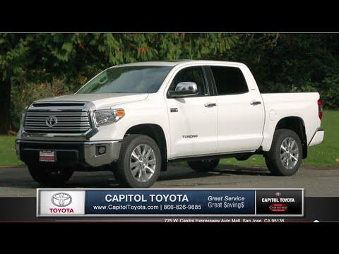 Toyota Tundra | Capitol Toyota San Jose Bay Area Dealership