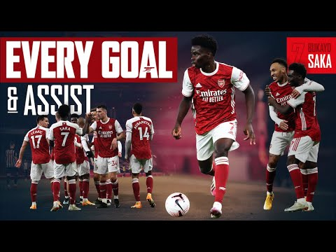 🌶 The best of Bukayo Saka | Every Goal and Assist | 2020/21