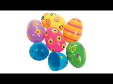 Must See Easter Review! 144 Plastic Easter Eggs Bulk- Hinged Fillable Easter Eggs Assorted Colors