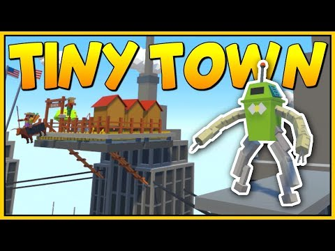 THE SUPERHEROES OF VR CITY SAVE THE WORLD - Tiny Town VR Gameplay - VR HTC Vive
