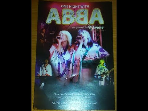 ABBA tribute - Tour 2017. Liverpool.