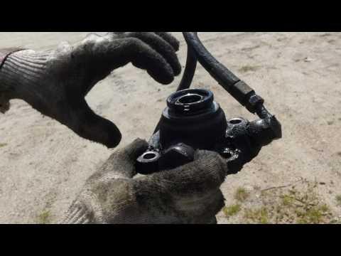Замена сальника гидроусилителя руля газель