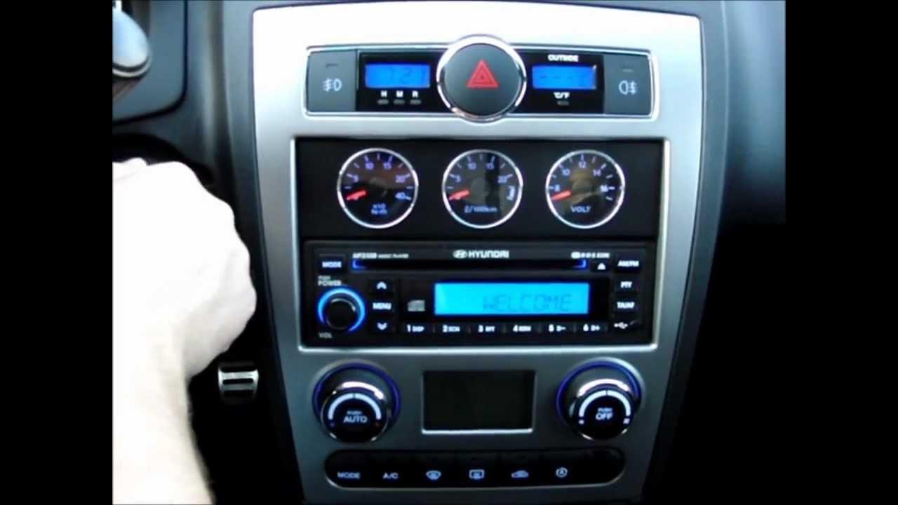 Hyundai Coupe 2008 2 0 16v Sound 1 Youtube