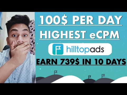 Highest Upto 50$ CPM Giving Ad Network