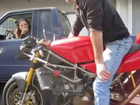 1993 Fogarty Ducati 888 WSB Start Up