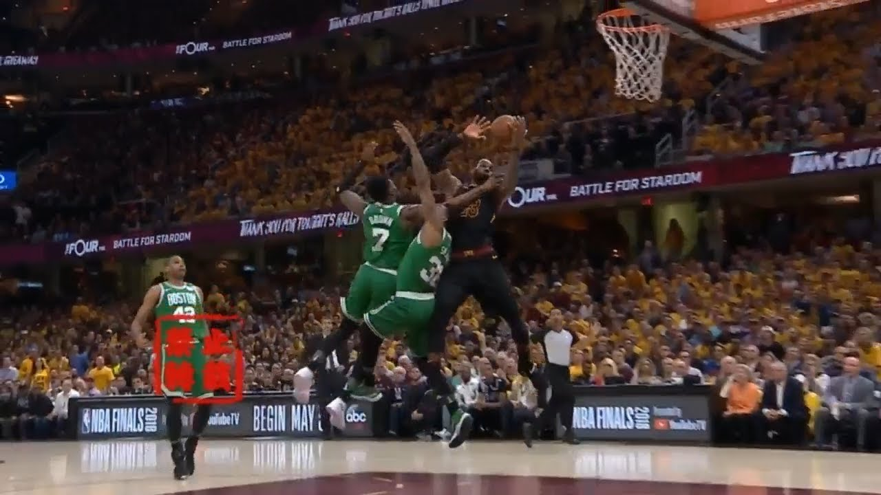 Kevin Love Hail Mary TOUCHDOWN Pass to LeBron James!