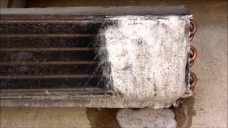 Foam Brite Condenser Cleaner Demonstration